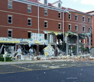 Gas Explosion Guts a Kentucky University Dorm Building