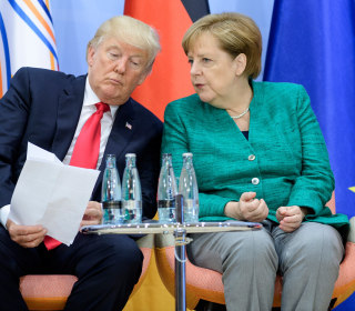 G-20 Shut Trump out on Climate, Merkel Calls U.S. Policy 'Regrettable'