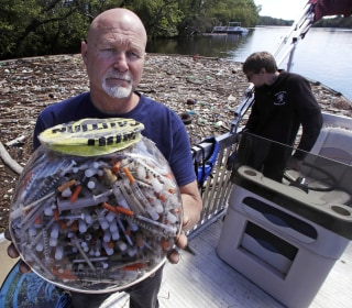Discarded Syringes from Heroin Crisis Create Health, Environmental Problems