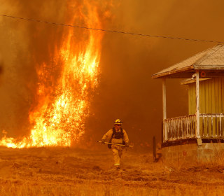In California, One Wildfire Suppressed as Another Blaze Grows