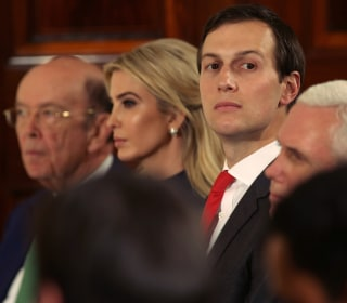 Jared Kushner Says 'I Did Not Collude' With Any Foreign Government