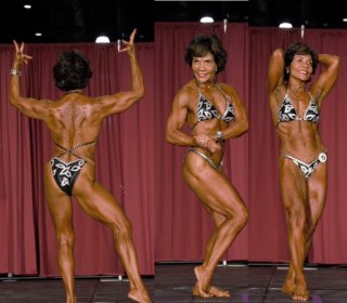 This Latina Bodybuilder Is 71: 'We Should Never Give Up on Ourselves'