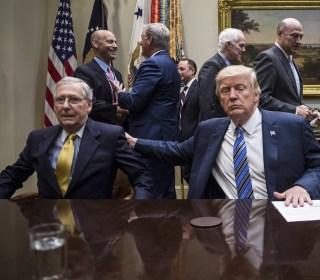 Republican Senators Defend McConnell After Trump Attacks