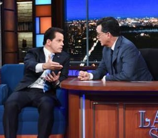 Scaramucci Tells Colbert: Bannon Would Be Out If It Were My Call