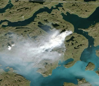 An Unusually Large Wildfire Has Burned for Weeks in Icy Greenland