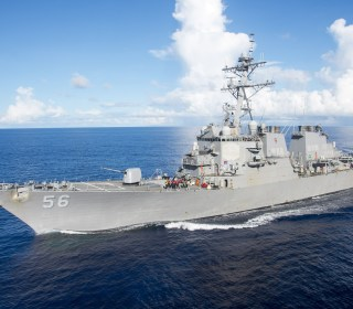 10 Sailors Missing After USS John S. McCain Collides With Merchant Ship