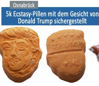 German Police Seize 5,000 Trump-Shaped Ecstasy Tablets