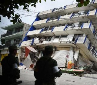 Earthquake Off Mexico Kills Dozens, Sparks Tsunami Warning