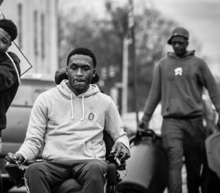'I Set Out to Prove Everyone Wrong': Paralyzed Football Star Moves Forward