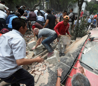 Over 130 Dead After Powerful Earthquake Rocks Mexico, Collapsing Buildings