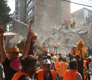 Almost 150 Dead After Powerful Quake Rocks Mexico, Collapses Buildings