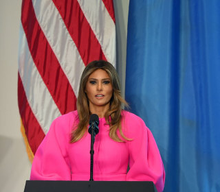First Lady Calls On Leaders to 'Step Up' for Children