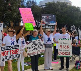 Vaccine Skeptic Message Gets Stronger, Bolder
