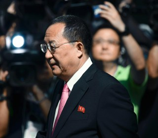 North Korean Foreign Minister Says Trump Has 'Declared War'