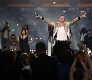 Macklemore Sings Gay Anthem at Australian Rugby Final Amid Same-Sex Marriage Vote