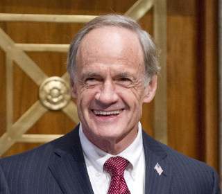 Long-serving Sen. Carper faces upstart challenger in Delaware Democratic primary