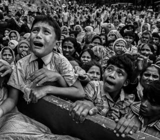 Rohingya Exodus: Fleeing Violence in Myanmar