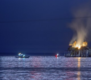 Search Suspended For Worker After Rig Explodes in Louisiana Lake