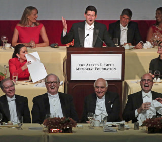 Speaker Paul Ryan Roasts President Trump at Al Smith Dinner