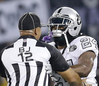 NFL Suspends Raiders' Marshawn Lynch for Shoving Official