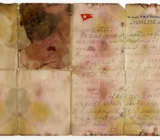 Titanic Passenger's Haunting Final Letter Sells for Record Price at Auction