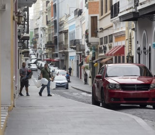 In Old San Juan, Puerto Rico, Shopkeepers Forge Ahead Despite Hurricane's Aftermath