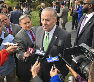 Chuck Schumer slams forged sex harassment documents as a 'phony allegation'