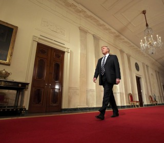 President Trump's first-year strides and stumbles