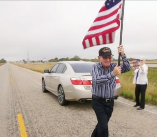 Old Glory's Cross-Country Trek: Why One Flag Is Being Handed off Over 4,600 Miles