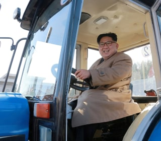 Kim Jong Un trades missile tests for tractors