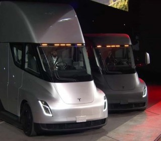 Tesla unveils electric truck and world's fastest production car