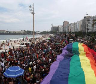 Thousands celebrate in Rio de Janeiro's annual gay pride parade