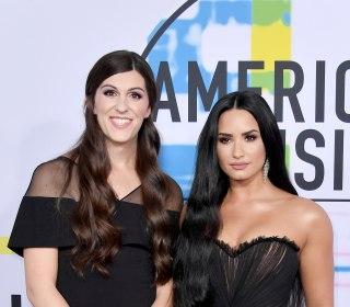 Delegate-elect Danica Roem attends AMAs with Demi Lovato