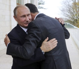 Syria's Assad meets with Putin in Russia as peace talks loom