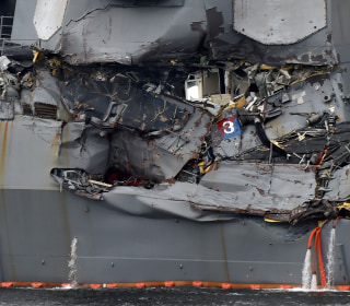 7th Fleet collisions raise questions about U.S. military readiness in the Pacific