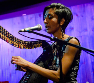 Meet the harpist using traditional Indian music and American jazz to 'bridge worlds'