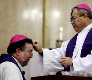 First Vietnamese-American Catholic bishop, dead at 77, helped connect refugees to U.S.