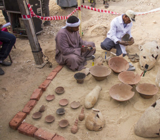 Archaeologists find two ancient Egyptian tombs in Luxor