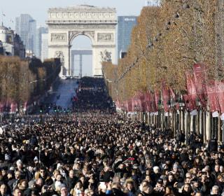 Tears, pomp, extravagance as France mourns rocker Johnny Hallyday