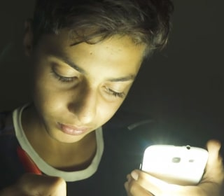 Growing up in Gaza in the dark