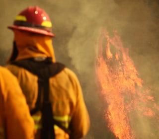 Firefighter killed battling powerful California wildfire