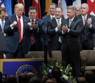 Trump praises police after blasting 'sad,' 'disgraceful' FBI