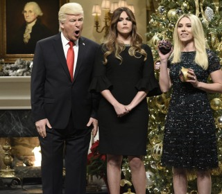 'Saturday Night Live' decorates the Christmas tree with Trump, skewers Roy Moore