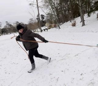 Deep South, deep freeze: Ice and snow turn travel treacherous