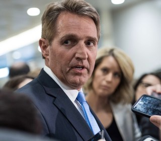 Jeff Flake: GOP needs to stand up to Trump more forcefully