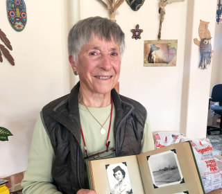 Lesbian veteran, 90, expelled from Air Force in '55, finally gets her 'honorable discharge'