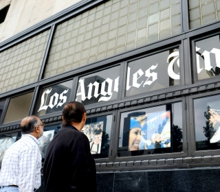 Los Angeles Times brings in former Wall Street Journal, Time editor Norman Pearlstine