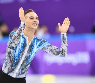 Gay athletes make history at Winter Olympics