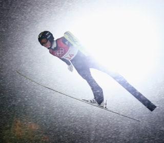 Olympic Moments: Skiers reach new heights and more