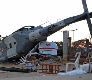 13 killed in helicopter crash in Oaxaca after Mexican quake